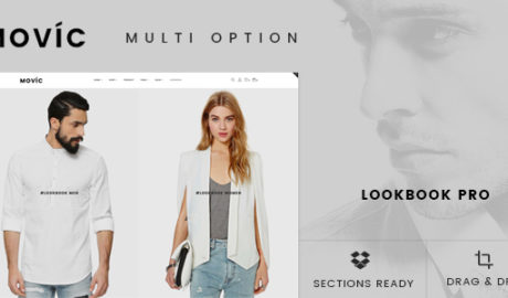 Movíc - Clothing and Fashion Shopify Theme